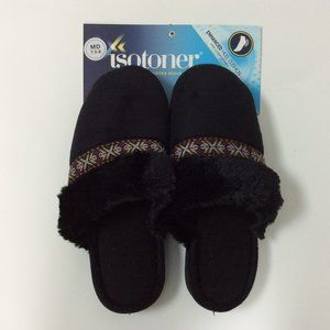 *NWT* Isotoner Faux Fur Slippers